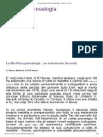 Pisogenealogia e Bio-Psicogenealogia - Onde Sincroniche