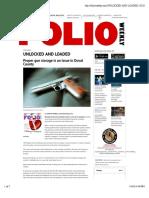 2015.07.29 Unlocked and Loaded - Folio Weekly