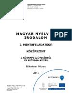 Magyar Kozep Erettsegi-új 2