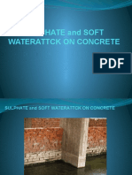 Sulphate Attck on Concrete