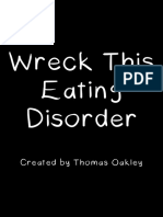 Wreck This Eating Disorder