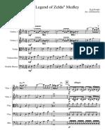 The Legend of Zelda Medley for Strings Orchestra or Quintet