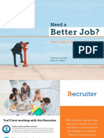 Need a Better Job