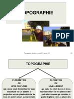 Topographie Altimetrie
