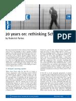 20 Years on Rethinking Schengen