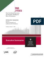 Competive on Analitycs Resumen