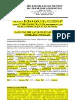 Isang Batas Para Sa Pilipinas