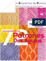 72 Patrones Dos Agujas manual de tejido