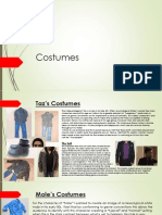 costumes updated