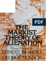 The Marxist Theory of Alienation - George Novack, Ernest Mandel (1973)