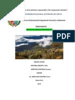 Monografia de Areas Naturales Protegidas