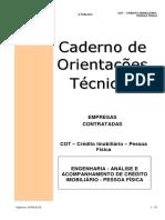 COT - Caderno de Orientações Técnicas (Engenharia) (1)