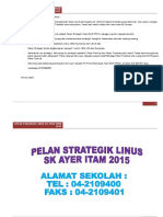 Pelan Strategik Linus2.0 Bagi Tahun 2015 Contoh Sekolah