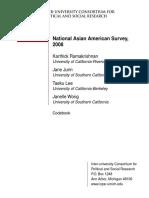 Asian American Survey Codebook