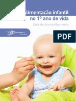 Guia de Alimentação Infantil 1º Ano de Vida