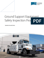 Ground Support Equipment Safety Inspection Program 2014