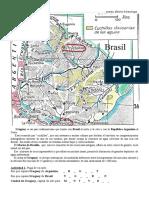 Uruguay mapa físico