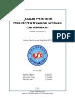 Makalah Cyber Crime (Prostitusi Online)