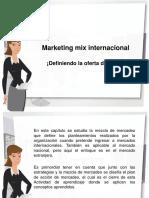 Marketing Mix Internacional