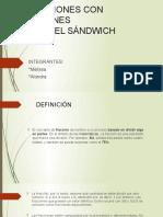 Expocicion de Franciones y Regla Del Sanwich