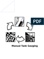 Manual tank gauging for small tanks