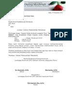Surat Permohonan Kerja Sama