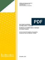 XIV CENSO NACIONAL DE POBLACIÓN Y VIVIENDA Resultados por Entidad Federal y Municipio del  Estado Carabobo