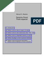 Abasto , Manuel g. - Derecho Penal - Parte Especial