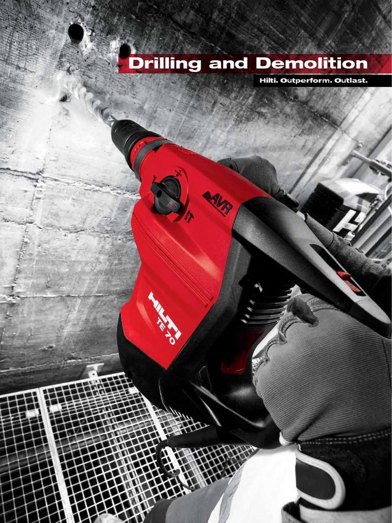 Hilti te yx 24//52 24mm drill bit