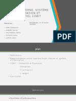 Contrôle Interne-Système d'Information Et COBIT