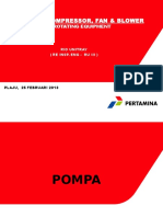 Pompa, Compressor Fan & Blower