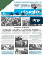 Version Impresa El Siglo 06-01-16