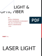 laser and fiber optic