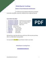 10 Free Tennis Drills eBook 1