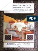 Working in Metals by Charles Conrad Sleffel
