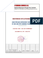 Method Statement - D200 Expressway Crossing by HDD and Pipe Ramming - English