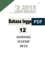 Marking Scheme BK10