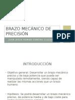 Brazo Mecánico de Precisión