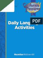 Grade 3 Daily Language Activities