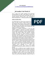 Fernand Braudel e a Resenha Dos Livros de CPJR