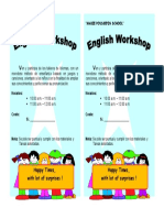 Language Workshops