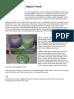 Paket Cream Anisa Original Murah