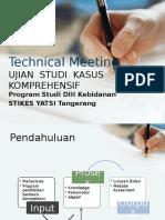 Hasil Technical Meeting Asuhan Komprehensif Tahun Ajaran 2015/2016