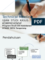 Hasil Technical Meeting Asuhan Komprehensif Tahun Ajaran 2015/2016