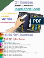 ENG 121 Academic Success /snaptutorial
