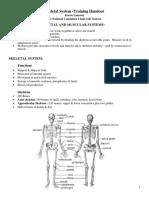 2 skeletal system handout