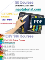 ENV 100ENV 100 Academic Success /snaptutorial