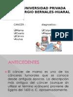 Cancer en La Mujer