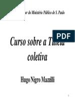 Curso Sobre a Tutela Coletiva - Mazzilli