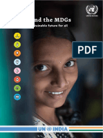 India anryteeerhyd the MDGs